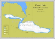 Chapel Lake Fishing Map