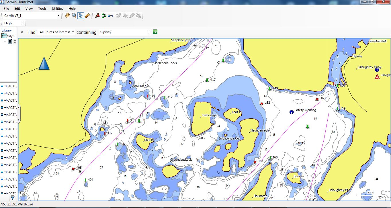 New lough corrib gps charts
