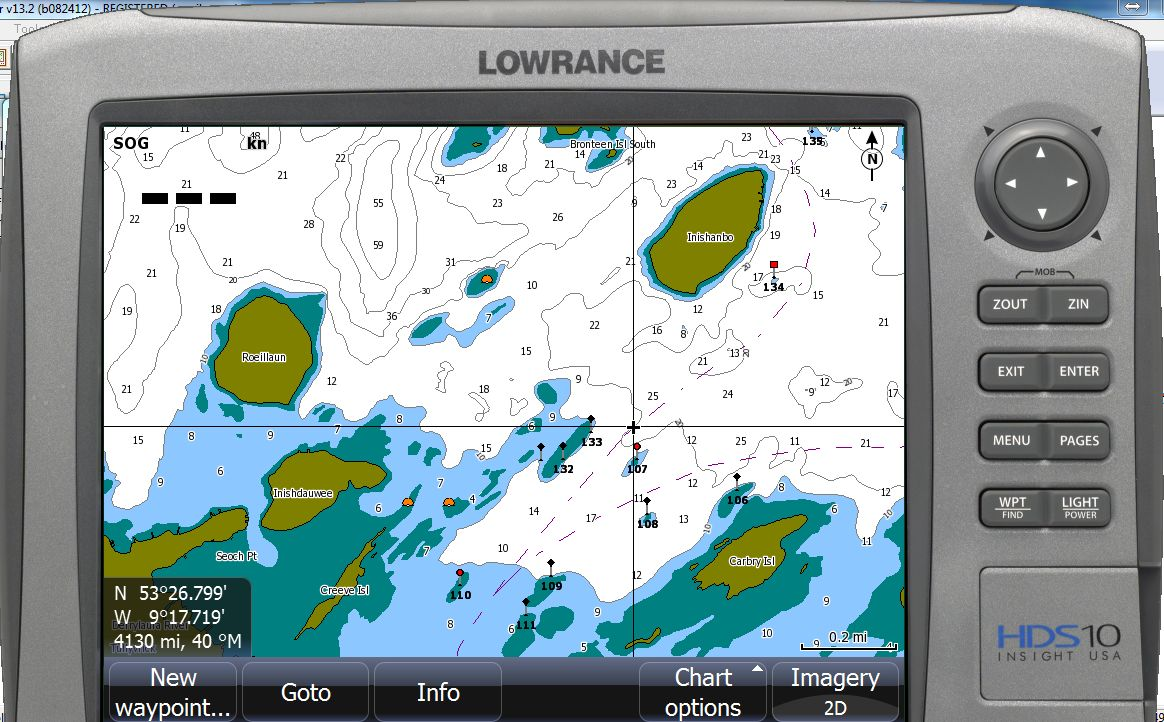 GPS Fishing Maps of Lough Corrib
